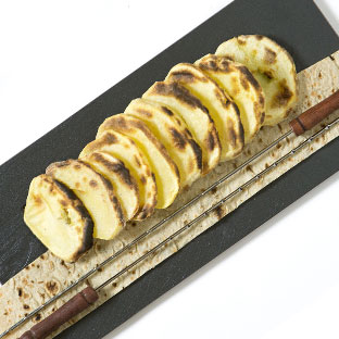 Grilled potato (plech)